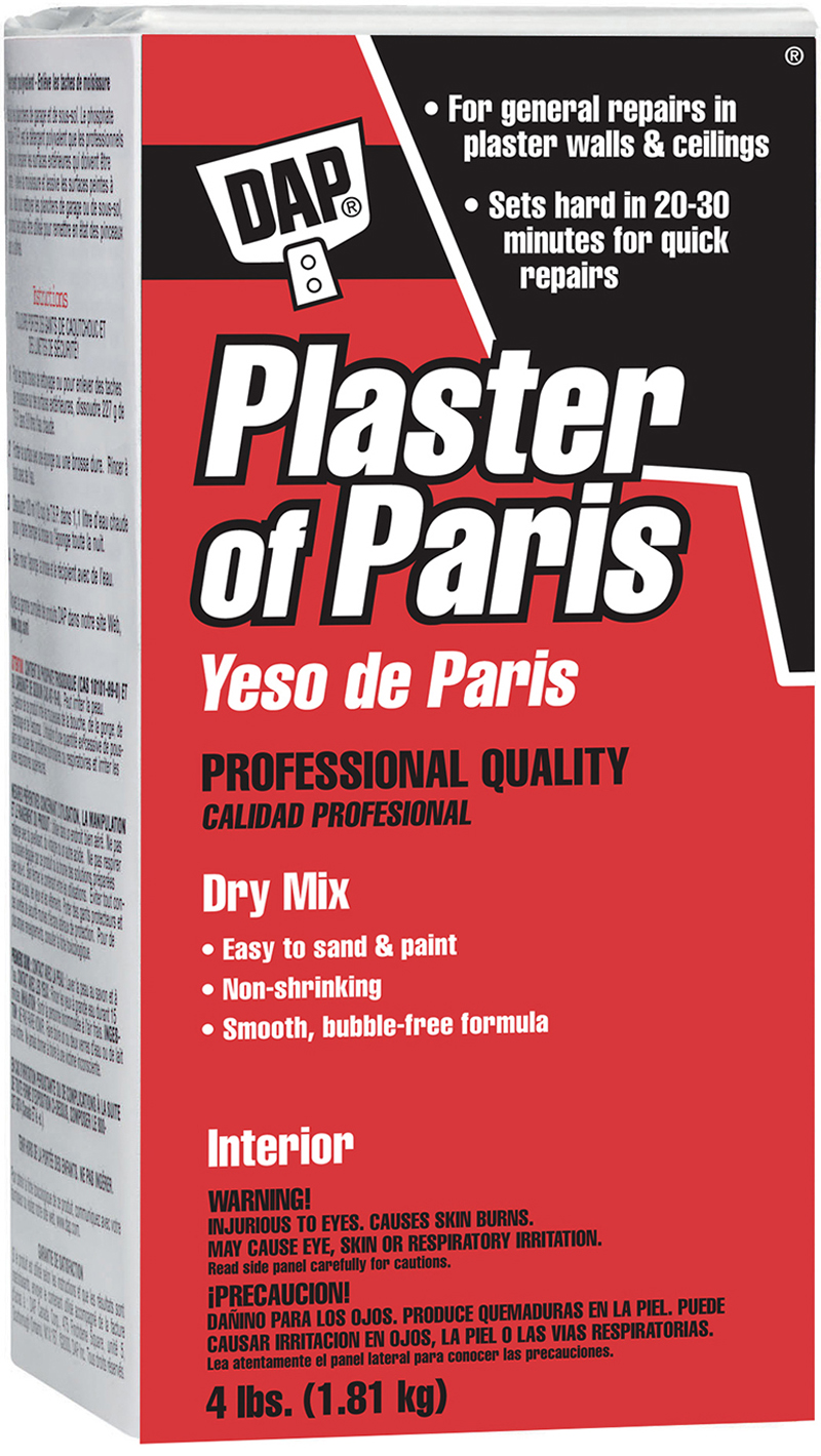 Calcium Sulfate (CaSO4) - Plaster Of Paris Is Used To Repair Walls And  Ceilings . The Walls Or Ceilings Must Be Stu… | Plaster Of Paris, Cleaning  Stone, Home Repair